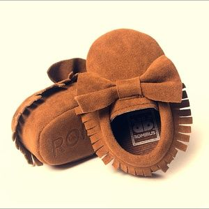 Other - Suede-Baby-Moccasins-Vegan-Leather-Baby-Moccasins